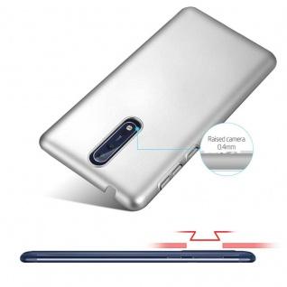 Cadorabo Hülle für Nokia 8 2017 in METALL SILBER - Hardcase Handyhülle aus Plastik gegen Kratzer und Stöße - Schutzhülle Bumper Ultra Slim Back Case Hard Cover - Vorschau 4