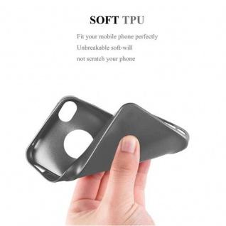 Cadorabo Hülle für Apple iPhone 4 / iPhone 4S in METALLIC GRAU - Handyhülle aus flexiblem TPU Silikon - Silikonhülle Schutzhülle Ultra Slim Soft Back Cover Case Bumper - Vorschau 5