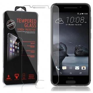Cadorabo Panzer Folie für HTC ONE A9 - Schutzfolie in KRISTALL KLAR - Gehärtetes (Tempered) Display-Schutzglas in 9H Härte mit 3D Touch Kompatibilität