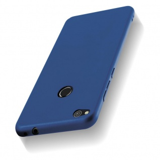 Cadorabo Hülle für Huawei P8 LITE 2017 in METALL BLAU - Hardcase Handyhülle aus Plastik gegen Kratzer und Stöße - Schutzhülle Bumper Ultra Slim Back Case Hard Cover - Vorschau 5