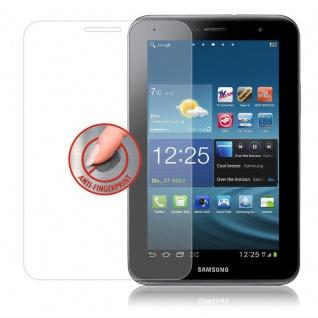 Cadorabo Panzer Folie für Samsung Galaxy TAB 2 (8 Zoll) - Schutzfolie in KRISTALL KLAR - Gehärtetes (Tempered) Display-Schutzglas in 9H Härte mit 3D Touch Kompatibilität - Vorschau 4