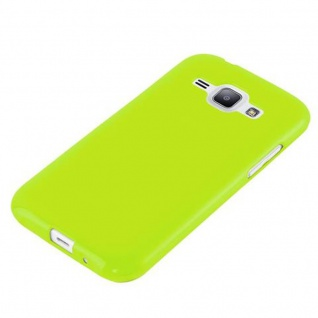 Cadorabo Hülle für Samsung Galaxy J1 2015 in JELLY GRÜN - Handyhülle aus flexiblem TPU Silikon - Silikonhülle Schutzhülle Ultra Slim Soft Back Cover Case Bumper - Vorschau 2