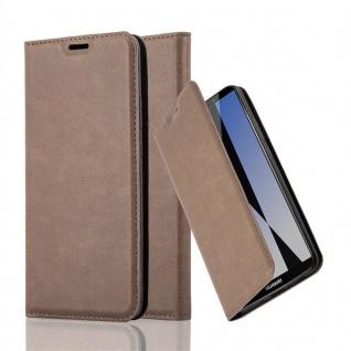 Cadorabo Hülle für Huawei MATE 10 PRO in KAFFEE BRAUN - Handyhülle mit Magnetverschluss, Standfunktion und Kartenfach - Case Cover Schutzhülle Etui Tasche Book Klapp Style