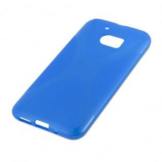 Cadorabo Hülle für HTC 10 in ROYAL BLAU - Handyhülle aus flexiblem TPU Silikon - Silikonhülle Schutzhülle Ultra Slim Soft Back Cover Case Bumper - Vorschau 4