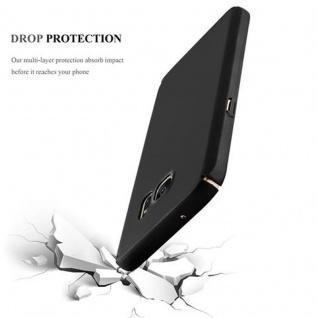 Cadorabo Hülle für Samsung Galaxy S7 in METALL SCHWARZ - Hardcase Handyhülle aus Plastik gegen Kratzer und Stöße - Schutzhülle Bumper Ultra Slim Back Case Hard Cover - Vorschau 3