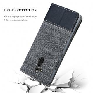 Cadorabo Hülle für Huawei MATE 20 LITE in GRAU SCHWARZ - Handyhülle mit Magnetverschluss, Standfunktion und Kartenfach - Case Cover Schutzhülle Etui Tasche Book Klapp Style - Vorschau 5
