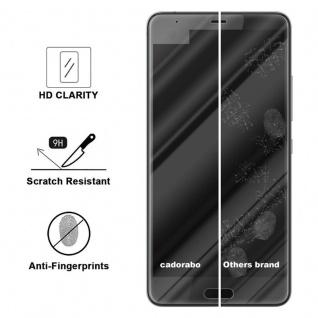 Cadorabo Panzer Folie für HTC U ULTRA - Schutzfolie in KRISTALL KLAR - Gehärtetes (Tempered) Display-Schutzglas in 9H Härte mit 3D Touch Kompatibilität - Vorschau 3