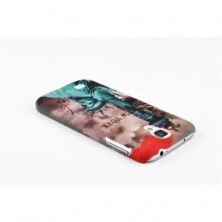 Cadorabo - Hard Cover für Samsung Galaxy S4 - Case Cover Schutzhülle Bumper im Design: NEW YORK - FREIHEITSSTATUE - Vorschau 2