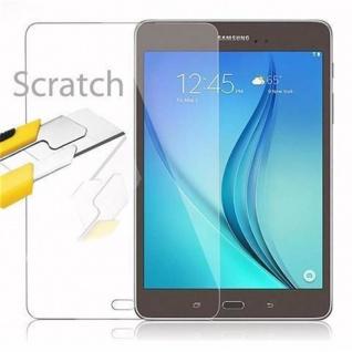 Cadorabo Panzer Folie für Samsung Galaxy Tab A (9, 7 Zoll) Schutzfolie in KRISTALL KLAR Gehärtetes (Tempered) Display-Schutzglas in 9H Härte mit 3D Touch Kompatibilität