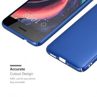 Cadorabo Hülle für HTC Desire 10 PRO in METALL BLAU ? Hardcase Handyhülle aus Plastik gegen Kratzer und Stöße ? Schutzhülle Bumper Ultra Slim Back Case Hard Cover - Vorschau 5