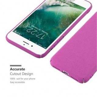 Cadorabo Hülle für Apple iPhone 7 / iPhone 7S / iPhone 8 in FROSTY PINK - Hardcase Handyhülle aus Plastik gegen Kratzer und Stöße - Schutzhülle Bumper Ultra Slim Back Case Hard Cover - Vorschau 5