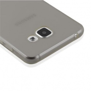 Cadorabo Hülle für Samsung Galaxy A3 2016 in TRANSPARENT SCHWARZ - Handyhülle aus flexiblem TPU Silikon - Silikonhülle Schutzhülle Ultra Slim Soft Back Cover Case Bumper - Vorschau 4