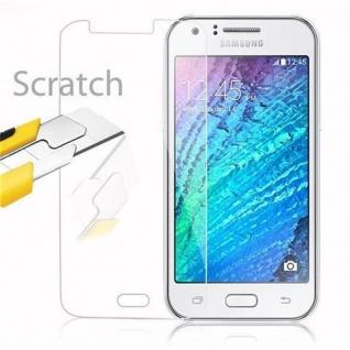 Cadorabo Panzer Folie für Samsung Galaxy J1 - Schutzfolie in KRISTALL KLAR - Gehärtetes (Tempered) Display-Schutzglas in 9H Härte mit 3D Touch Kompatibilität - Vorschau 2