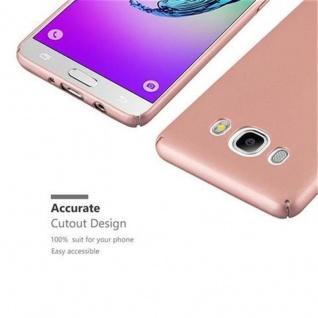 Cadorabo Hülle für Samsung Galaxy J5 2016 in METALL ROSE GOLD - Hardcase Handyhülle aus Plastik gegen Kratzer und Stöße - Schutzhülle Bumper Ultra Slim Back Case Hard Cover - Vorschau 3