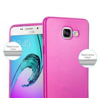 Cadorabo Hülle für Samsung Galaxy A5 2016 in PINK - Handyhülle aus flexiblem TPU Silikon - Silikonhülle Schutzhülle Ultra Slim Soft Back Cover Case Bumper - Vorschau 2