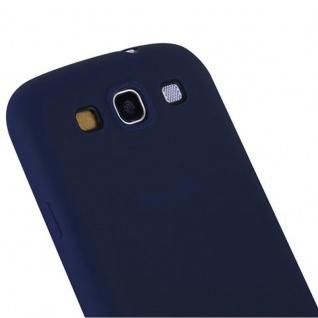 Cadorabo Hülle für Samsung Galaxy S3 / S3 NEO in CANDY DUNKEL BLAU - Handyhülle aus flexiblem TPU Silikon - Silikonhülle Schutzhülle Ultra Slim Soft Back Cover Case Bumper - Vorschau 2