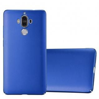 Cadorabo Hülle für Huawei MATE 9 in METALL BLAU - Hardcase Handyhülle aus Plastik gegen Kratzer und Stöße - Schutzhülle Bumper Ultra Slim Back Case Hard Cover