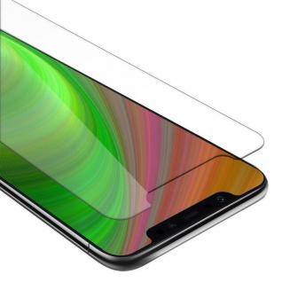 Cadorabo Panzer Folie für Xiaomi POCOPHONE F1 - Schutzfolie in KRISTALL KLAR - Gehärtetes (Tempered) Display-Schutzglas in 9H Härte mit 3D Touch Kompatibilität