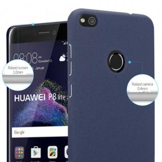 Cadorabo Hülle für Huawei P8 LITE 2017 in FROSTY BLAU - Hardcase Handyhülle aus Plastik gegen Kratzer und Stöße - Schutzhülle Bumper Ultra Slim Back Case Hard Cover - Vorschau 4