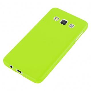 Cadorabo Hülle für Samsung Galaxy A3 2015 in JELLY GRÜN - Handyhülle aus flexiblem TPU Silikon - Silikonhülle Schutzhülle Ultra Slim Soft Back Cover Case Bumper - Vorschau 5