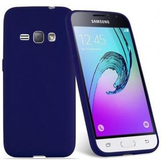 Cadorabo Hülle für Samsung Galaxy J1 2016 in CANDY DUNKEL BLAU - Handyhülle aus flexiblem TPU Silikon - Silikonhülle Schutzhülle Ultra Slim Soft Back Cover Case Bumper - Vorschau 2