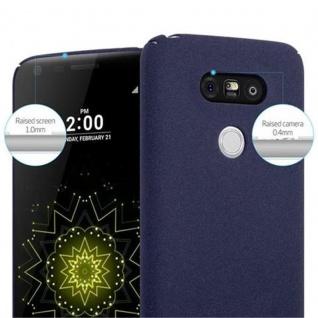 Cadorabo Hülle für LG G5 in FROSTY BLAU - Hardcase Handyhülle aus Plastik gegen Kratzer und Stöße - Schutzhülle Bumper Ultra Slim Back Case Hard Cover - Vorschau 5