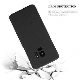 Cadorabo Hülle für Samsung Galaxy S9 in FROSTY SCHWARZ - Hardcase Handyhülle aus Plastik gegen Kratzer und Stöße - Schutzhülle Bumper Ultra Slim Back Case Hard Cover - Vorschau 4
