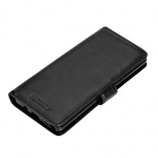 Cadorabo Hülle für Samsung Galaxy NOTE 8 in OXID SCHWARZ ? Handyhülle mit Magnetverschluss und 3 Kartenfächern ? Case Cover Schutzhülle Etui Tasche Book Klapp Style - Vorschau 4