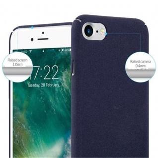 Cadorabo Hülle für Apple iPhone 7 / iPhone 7S / iPhone 8 in FROSTY BLAU - Hardcase Handyhülle aus Plastik gegen Kratzer und Stöße - Schutzhülle Bumper Ultra Slim Back Case Hard Cover - Vorschau 4
