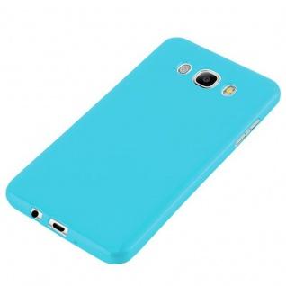 Cadorabo Hülle für Samsung Galaxy J7 2015 in JELLY HELL BLAU - Handyhülle aus flexiblem TPU Silikon - Silikonhülle Schutzhülle Ultra Slim Soft Back Cover Case Bumper - Vorschau 3