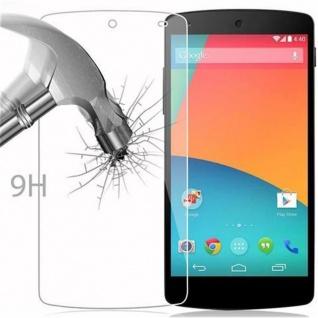 Cadorabo Panzer Folie für LG Google Nexus 5 - Schutzfolie in KRISTALL KLAR - Gehärtetes (Tempered) Display-Schutzglas in 9H Härte mit 3D Touch Kompatibilität - Vorschau 3