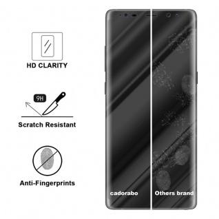Cadorabo Panzer Folie für Samsung Galaxy NOTE 8 - Schutzfolie in KRISTALL KLAR - Gehärtetes (Tempered) Display-Schutzglas in 9H Härte mit 3D Touch Kompatibilität - Vorschau 3