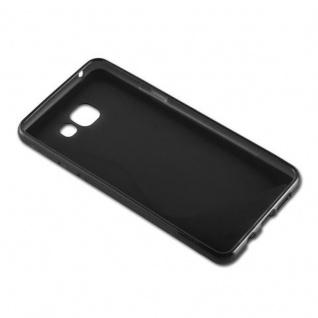 Cadorabo Hülle für Samsung Galaxy A5 2016 in OXID SCHWARZ ? Handyhülle aus flexiblem TPU Silikon ? Silikonhülle Schutzhülle Ultra Slim Soft Back Cover Case Bumper - Vorschau 3