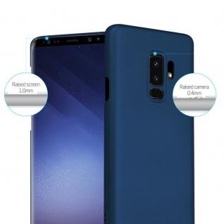 Cadorabo Hülle für Samsung Galaxy S9 PLUS in METALL BLAU - Hardcase Handyhülle aus Plastik gegen Kratzer und Stöße - Schutzhülle Bumper Ultra Slim Back Case Hard Cover - Vorschau 2