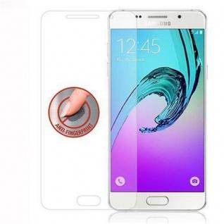 Cadorabo Panzer Folie für Samsung Galaxy A9 2016 - Schutzfolie in KRISTALL KLAR - Gehärtetes (Tempered) Display-Schutzglas in 9H Härte mit 3D Touch Kompatibilität - Vorschau 4