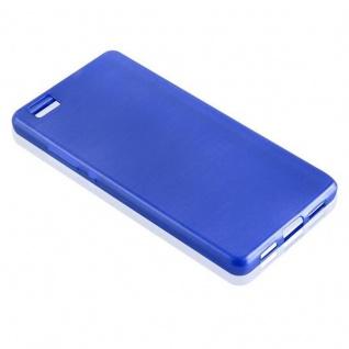 Cadorabo Hülle für Huawei P8 LITE 2015 in BLAU - Handyhülle aus flexiblem TPU Silikon - Silikonhülle Schutzhülle Ultra Slim Soft Back Cover Case Bumper - Vorschau 2