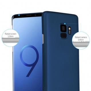Cadorabo Hülle für Samsung Galaxy S9 in METALL BLAU - Hardcase Handyhülle aus Plastik gegen Kratzer und Stöße - Schutzhülle Bumper Ultra Slim Back Case Hard Cover - Vorschau 2