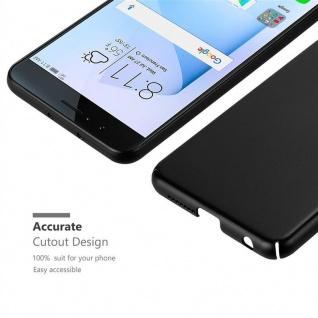 Cadorabo Hülle für Honor 8 in METALL SCHWARZ - Hardcase Handyhülle aus Plastik gegen Kratzer und Stöße - Schutzhülle Bumper Ultra Slim Back Case Hard Cover - Vorschau 5
