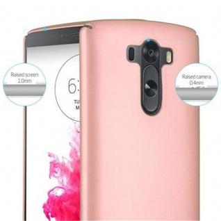 Cadorabo Hülle für LG G3 in METALL ROSE GOLD - Hardcase Handyhülle aus Plastik gegen Kratzer und Stöße - Schutzhülle Bumper Ultra Slim Back Case Hard Cover - Vorschau 5