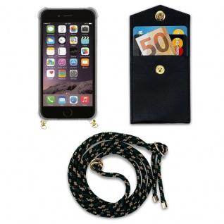 Cadorabo Handy Kette für Apple iPhone 6 PLUS / iPhone 6S PLUS in CAMOUFLAGE ? Silikon Necklace Umhänge Hülle mit Gold Ringen, Kordel Band Schnur und abnehmbarem Etui ? Schutzhülle - Vorschau 5