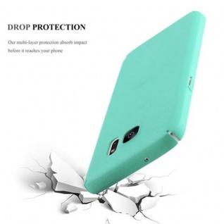 Cadorabo Hülle für Samsung Galaxy S7 in FROSTY GRÜN - Hardcase Handyhülle aus Plastik gegen Kratzer und Stöße - Schutzhülle Bumper Ultra Slim Back Case Hard Cover - Vorschau 4