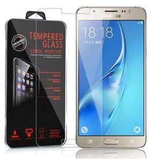 Cadorabo Panzer Folie für Samsung Galaxy J5 Schutzfolie in KRISTALL KLAR Gehärtetes (Tempered) Display-Schutzglas in 9H Härte mit 3D Touch Kompatibilität
