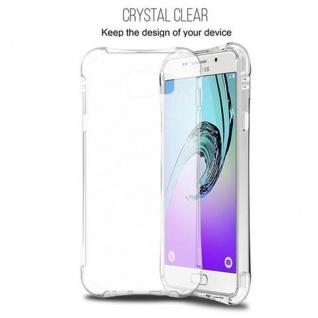 Cadorabo Hülle für Samsung Galaxy A7 2016 (6) - Hülle in KOMPLETT TRANSPARENT - Handyhülle aus TPU Silikon mit Schlaufe im Small Waist Design - Silikonhülle Schutzhülle Ultra Slim Soft Back Cover Case Bumper - Vorschau 4