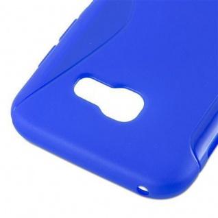 Cadorabo Hülle für Samsung Galaxy A3 2017 in ROYAL BLAU ? Handyhülle aus flexiblem TPU Silikon ? Silikonhülle Schutzhülle Ultra Slim Soft Back Cover Case Bumper - Vorschau 3