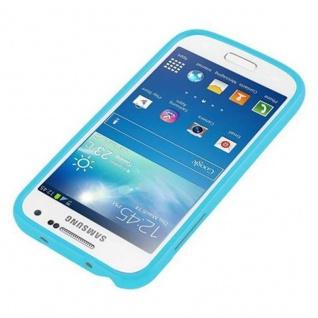 Cadorabo Hülle für Samsung Galaxy S4 MINI in JELLY HELL BLAU - Handyhülle aus flexiblem TPU Silikon - Silikonhülle Schutzhülle Ultra Slim Soft Back Cover Case Bumper - Vorschau 4