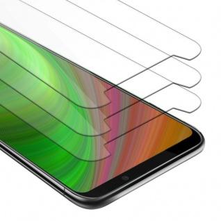 Cadorabo 3x Panzer Folie für Xiaomi Black Shark 2 PRO - Schutzfolie in KRISTALL KLAR - 3er Pack Gehärtetes (Tempered) Display-Schutzglas in 9H Härte mit 3D Touch Kompatibilität