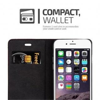 Cadorabo Hülle für Apple iPhone 6 PLUS / iPhone 6S PLUS in APFEL ROT - Handyhülle mit Magnetverschluss, Standfunktion und Kartenfach - Case Cover Schutzhülle Etui Tasche Book Klapp Style - Vorschau 2