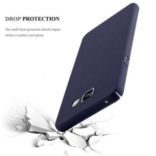 Cadorabo Hülle für Samsung Galaxy A3 2016 in FROSTY BLAU - Hardcase Handyhülle aus Plastik gegen Kratzer und Stöße - Schutzhülle Bumper Ultra Slim Back Case Hard Cover - Vorschau 3