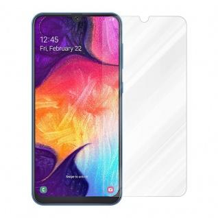 Cadorabo Panzer Folie für Samsung Galaxy A50 - Schutzfolie in KRISTALL KLAR - Gehärtetes (Tempered) Display-Schutzglas in 9H Härte mit 3D Touch Kompatibilität - Vorschau 2