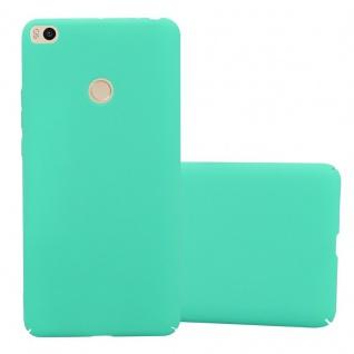 Cadorabo Hülle für Xiaomi Mi Max 2 in FROSTY GRÜN - Hardcase Handyhülle aus Plastik gegen Kratzer und Stöße - Schutzhülle Bumper Ultra Slim Back Case Hard Cover